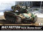 [1/35] 대한민국 해병대 M47 패튼전차