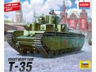 [1/35] SOVIET HEAVY TANK T-35 (w/ 철조망 에칭 & 데칼)