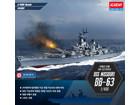 [1/400] U.S. NAVY BATTLESHIP USS MISSOURI BB-63 (w/ 명판)