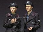German Panzer Crew Set / 2 Figures & 4 Heads