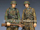 WSS Grenadiers 44-45 Set / 2 Figures & 4 Heads