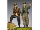 WSS Officers 44-45 Set / 2 Figures & 4 Heads