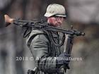 WSS MG Gunner at Kharkov