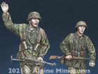 WSS Grenadier '44 Set / 2 Figures & 4 Heads