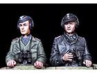 German Panzer Ace Set / 2 Figures & 4 Heads