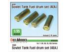 WWII Soviet Tank series Fuel drum set  (for1/35 T-34, SU, JS, JSU series)