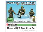 [1/35] Modern ROK Army Tank crew set 3 fig. (w/위장복 데칼)