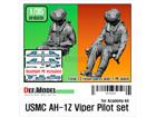 [1/35] USMC AH-1Z Viper Pilot set for Academy 1/35 kit