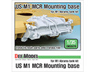 US M1 MCR Mointing base for M1 Abrams tank