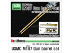 USMC M197 152mm Gun metal barrel set for 1/35 AH-1Z Viper Academy kit