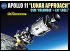 [1/48] Appollo 11 Lunar Approach CSM Columbia + LM Eagle [50th anniversary]