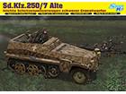 [1/35] Sd.Kfz.250/7 Alte Ieichte Schutzenpanzerwagwn schwerer Granatwerfer