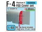 F-4 Phantom II FOD Cover set (for Academy 1/48)
