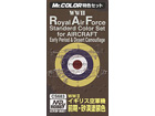 WWII RAF AIRCRAFT STANDARD COLOR SET for AIRCRAFT [Early Period & Desert Camouflage]