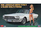 [1/24] 1966 AMERICAN COUPE TYPE-T w/BLOND GIRL'S FIGURE