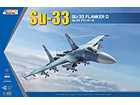 [1/48] Su-33 Flanker D (w/ 마스크씰)