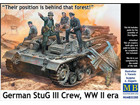 [1/35] German StuG III Crew. WW II era. Their position is behind that forest!