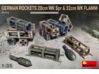 [1/35] GERMAN ROCKETS 28cm WK Spr & 32cm WK FLAMM