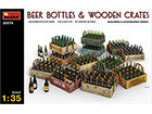 [1/35] BEER BOTTLES & WOODEN CRATES