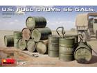 [1/35] U.S. FUEL DRUMS 55 GALS.