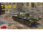 [1/35] T-54-3 SOVIET MEDIUM TANK. Mod 1951 [Interior kit]
