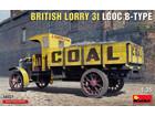 [1/35] BRITISH LORRY 3T LGOC B-TYPE