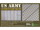 [1/35] WWII US CLAMP TOOL SET