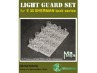 [1/35] WW2 US SHERMAN LIGHT GUARD SET