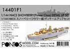 [1/144] HMCS Snowberry Flower Class Corvette  Detail Up Set