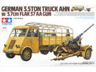 [1/35] German 3.5ton Truck AHN - w/3.7cm Flak 37 AA Gun