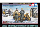 [1/48] GERMAN LUFTWAFFE CREW (WINTER) w/KETTENKRAFTRAD