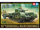 [1/48] BRITISH TANK CHURCHILL MK. VII CROCODILE