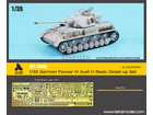 [1/35] German Panzer IVAusf.H Basic Detail-up set for Academy