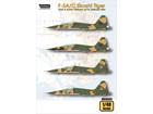 F-5A/C Skoshi Tiger - USAF & South Vietnam AF in Vietnam War