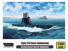 [1/350] Type 214 Class Submarine