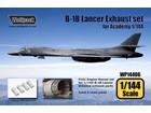[1/144] B-1B LancerExhaust set (for Academy 1/144)