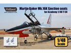 Martin Baker Mk.16K Ejection seats for T-50 (for Academy 1/48)
