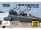 Martin Baker Mk.16 (US16T)Ejection seat set (for 1/48 T-38C Talon)