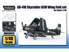 AD-4W Skyraider AEW Wing Fold set (for Italeri 1/48)