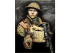 British LEWIS Gunner WWI