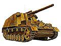 [1/15] 2ch R/C GERMAN 150mm SELF PROPELLED Sdkfz 165 HUMMEL