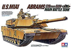 [1/35] U.S. M1A1 ABRAMS TANK