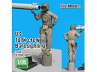 [1/35] Modern US Tank crew Boresighting