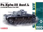 [1/35] Pz.Kpfw.III Ausf.L s.Pz.Abt.502 Leningrad 1942/43 [NEO Smart Kit 06]