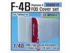 F-4 Phantom II FOD Cover set (for Tamiya 1/48)