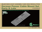 [1/16] German Panzer Cable Mount Set Early & Late