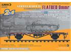 [1/35] German Railway FLATBED CAR Ommr