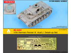 [1/35] German Panzer III Aust.J Detail-up Set (for Academy)